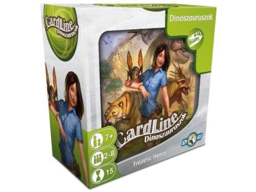 Asmodee Cardline dinoszauruszok Társasjáték 31395349 Társasjáték