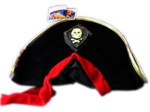 Kalóz kalap piros kendővel 31026519 Jelmez gyerekeknek