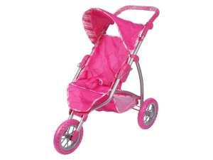 Háromkerekű Játék sport babakocsi #rózsaszín 31037012 Játék babakocsi