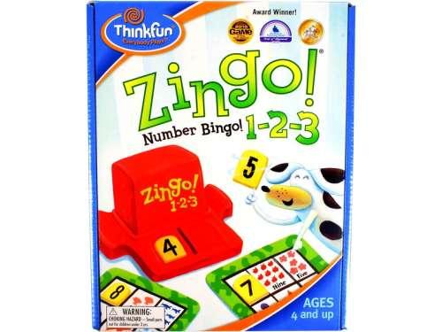 Thinkfun Zingo 1-2-3 Társasjáték 31027496 Társasjáték