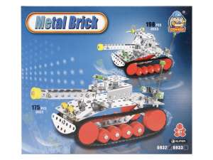 Tank 175 darabos fém építőjáték 31026641 Fém építőjáték