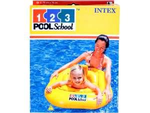 Intex Beülős bébi Úszógumi #sárga