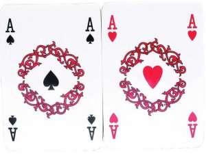 Francia kártya celofánban 2 x 55 lapos csomag 31035053 Kártyajáték