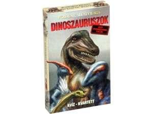 Dinoszauruszok kvíz kvartett kártyajáték 31026722 Kártyajáték