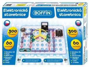Boffin elektronikus építőkészlet 60 darabos 31055760 Fém építőjáték