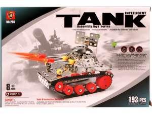 Tank 193 darabos fém építőjáték 31040705 Fém építőjáték