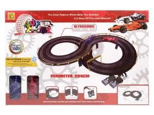 Super track elektromos Autópálya - Forma1 31027764 Autópálya, parkolóház