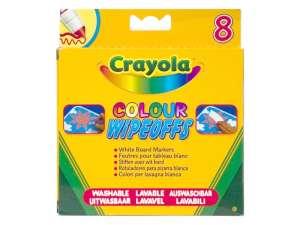 Crayola 8 darabos táblafilctoll készlet