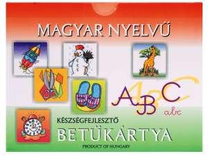 Magyar nyelvű betűkártya készségfejlesztő 31025184 Kártyajáték