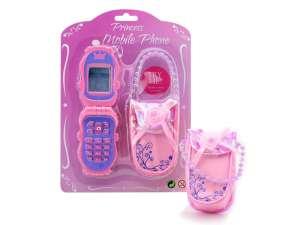 Játék mobiltelefon tokkal - rózsaszín 31031821 Walkie Talkie
