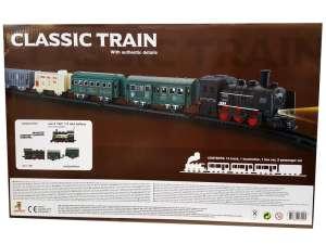 Klasszikus vonat 19 darabos készlet 31029544 Vonat, vasúti elem, autópálya