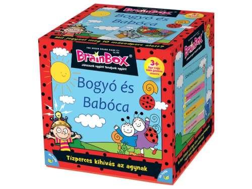 Green Board Game BrainBox Társasjáték Bogyó és Babóca