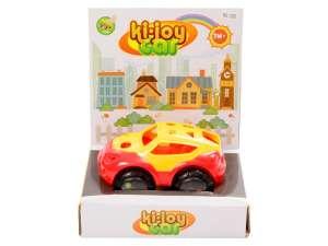 Készségfejlesztő Játék - Autó #piros-sárga