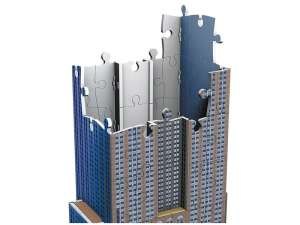 3D Puzzle - Épület (216db) 31026156 3D puzzle