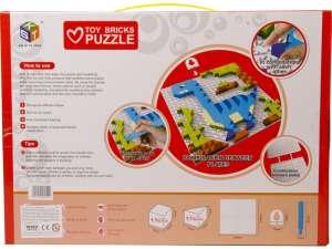 Dínós mozaik képkirakó 420 darabos készlet 31031277 Kreatív játék