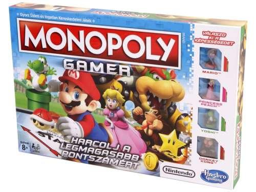 Hasbro Monopoly családi Társasjáték Gamer kiadás