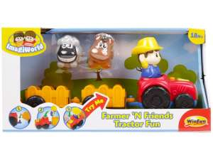 Tolható Játék - Autó #piros-narancssárga 31038200 Fejlesztő játék babáknak