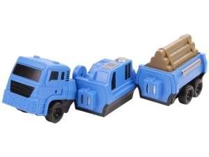 Szétszedhető teherautó - kék, 22 cm 31027240 Munkagép gyerekeknek