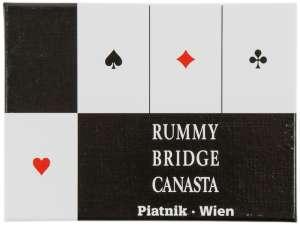 Bécsi standard 2 x 55 lapos römikártya 31039564 Kártyajáték