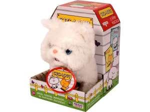 Interaktív Plüss 20cm -Perzsa cica #fehér 31040309 Interaktív plüss