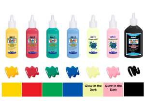 Üvegfesték készlet 31161881 Üveg és textil festék