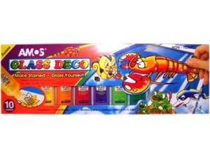 Glass Deco üvegfesték készlet 31025775 Üveg és textil festék