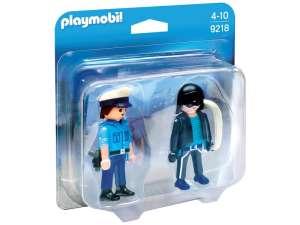 Playmobil Rendőr és tolvaj készlet 9218 31034862 Playmobil City