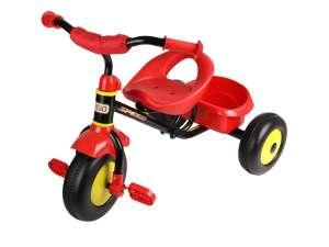 Fémvázas Tricikli #piros