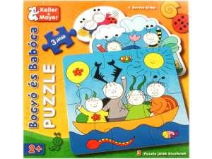 Keller&Mayer gyerek Puzzle 3x2db - Bogyó és Babóca 31040115