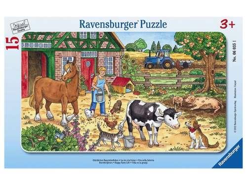 Ravensburger gyerek Puzzle 15db - Farm