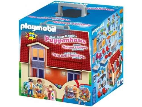 Playmobil Hordozható családi ház 5167 31039020 Playmobil Dollhouse