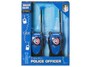 Rendőrségi adóvevő készlet 31036243 Walkie Talkie