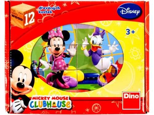 Gyerek Puzzle 12db - Mickey Mouse