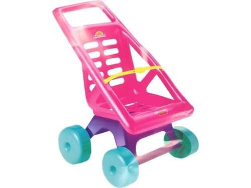 Játék babakocsi #rózsaszín