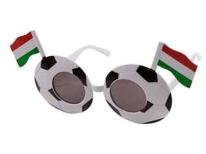 Focilabda mintás party szemüveg 31024899 Tréfás termék