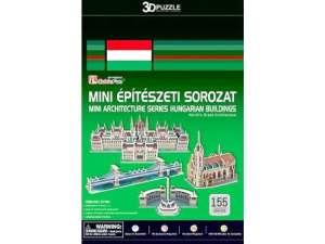 3D Puzzle - Épület (155db) 31041260 3D puzzle