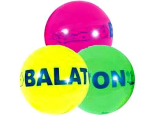 Neon Labda 11cm - Balaton
