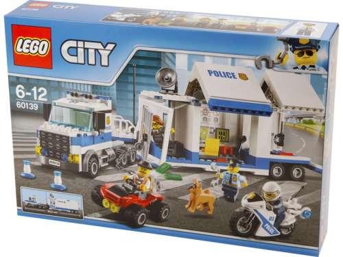 LEGO® City Mobil rendőrparancsnoki központ 60139