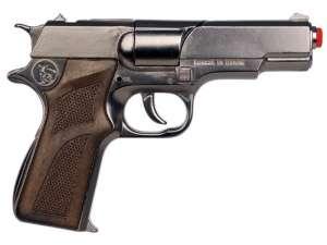Rendőrségi patronos pisztoly - 18 cm 31026720 Játékpuska, töltény