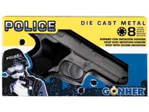 Smith and Wesson patronos pisztoly - 20 cm 31027035 Játékpuska, töltény