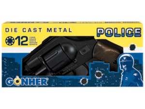 Smith and Wesson .38 patronos pisztoly - 18 cm 31025716 Játékpuska, töltény