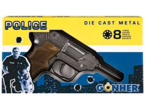 Luger patronos pisztoly - 20 cm 31032187 Játékpuska, töltény