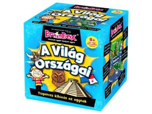 Green Board Game BrainBox - A világ országai Társasjáték