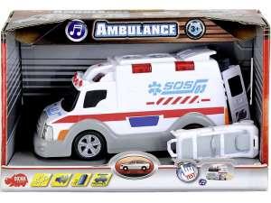 Dickie Ambulance Autó - 15cm #fehér 31039901 Autós játékok, autó, jármű