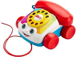Fisher Price fecsegő telefon Játék #piros-fehér