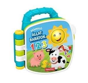 Fisher Price foglalkoztató Könyv - Farm 30765169 Fejlesztő játék babáknak
