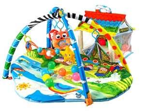 Lionelo Játszószőnyeg - Szafari 30765198 Lionelo Bébitornázó és játszószőnyeg