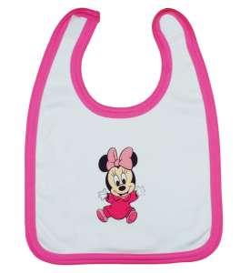 Disney Előke -  Minnie Mouse #fehér-rózsazsín 30765522 Előke, büfikendő
