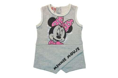 Disney ujjatlan Kislány ruha - Minnie Mouse #szürke 30765567