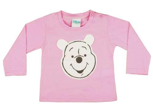 Disney Hosszú ujjú póló - Micimackó #rózsaszín 30765620